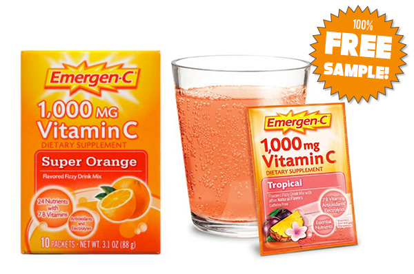 Emergen-C Free Sample