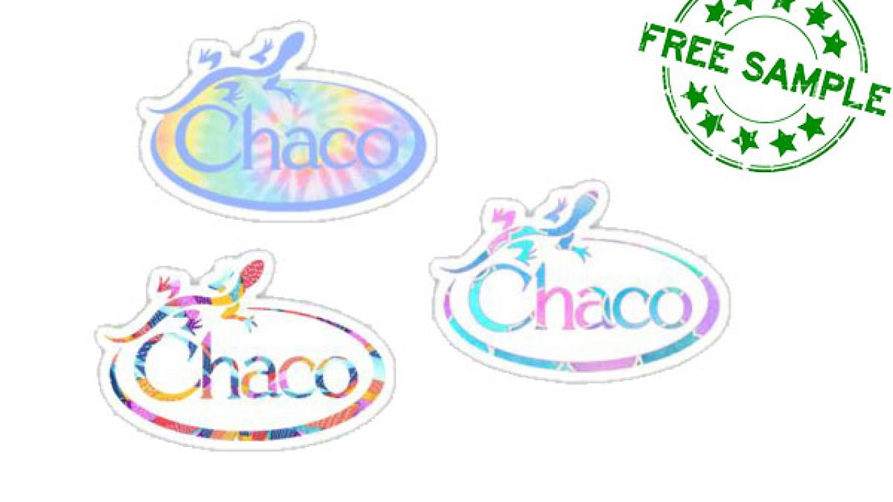 Free Chacos Stickers   Daily Freebie