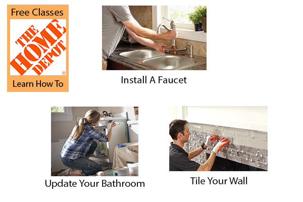 Free Home Depot Workshop Classes