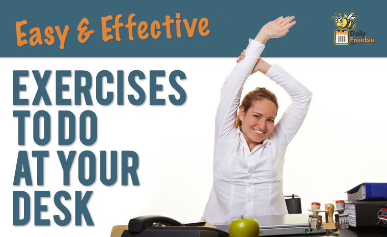 Stay Active at Your Desk