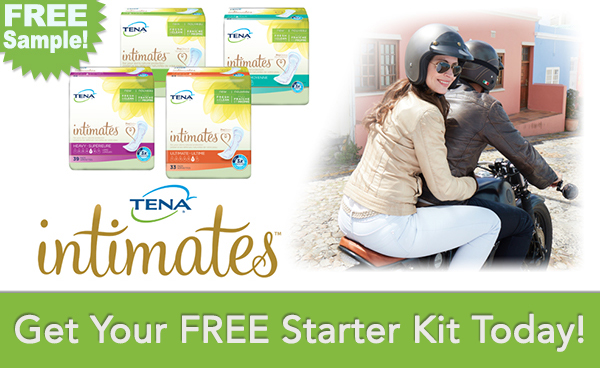 FREE TENA Intimates Overnight Pad Sample