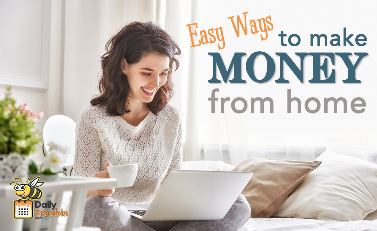 Making Money from Home is Easy…