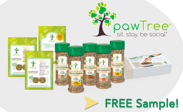 Pawtree Pet Food Seasoning Free Sample