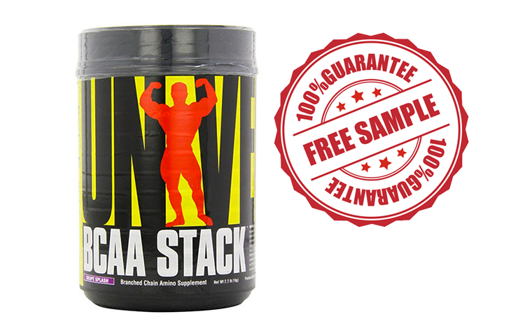 FREE BCAA Stack Grape Sample