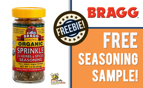 Free Herb & Spice Sample from Bragg