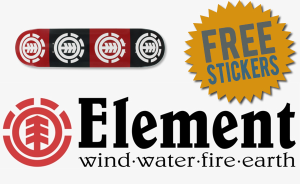 FREE Element Stickers