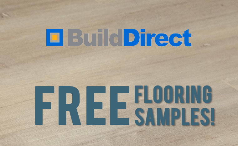 FREE BuildDirect Flooring Samples