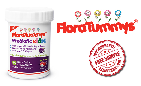 FREE FloraTummys Sprinkles Power Packets For Kids