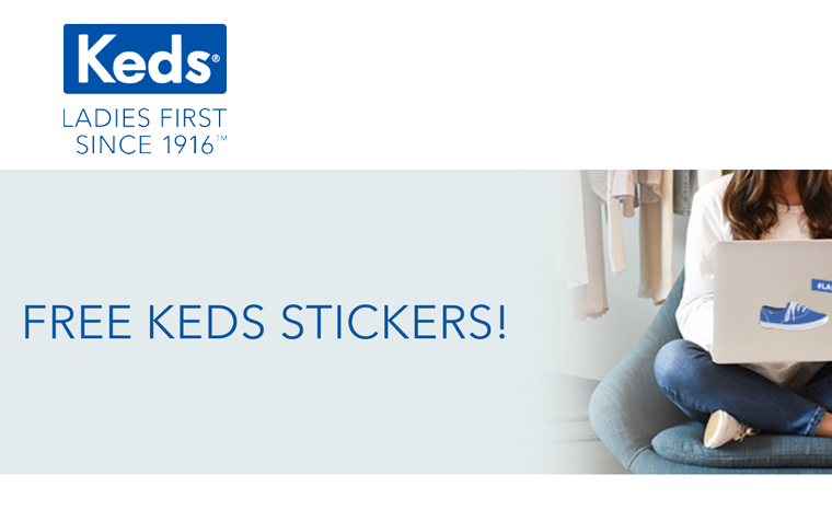 FREE KEDS Stickers