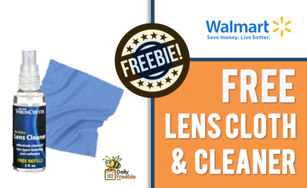 FREE Lens Cloth & Cleaner