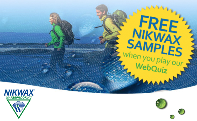FREE NIKWAX BaseFresh Sample