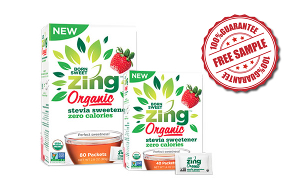 FREE Zing Organic Sample