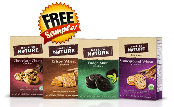 FREE Full Sized Back To Nature Cookie or Cracker Box!