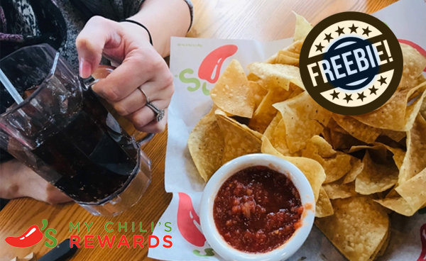 Chili's: Free Chips, Salsa and Drink Each Visit