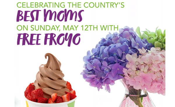 FREE TCBY Yogurt for Moms on Mother's Day