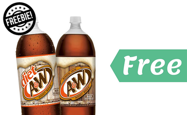 Free 2-Liter A&W Root Beer