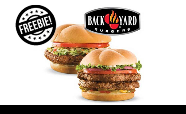 Free Burger From Backyard Burgers