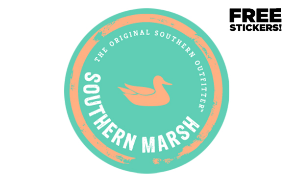 Free Southern Marsh Sticker