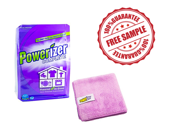 FREE Powerizer Complete Stain Remover Sample!