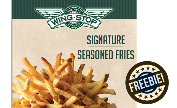 Free Order of Fries at Wing Stop