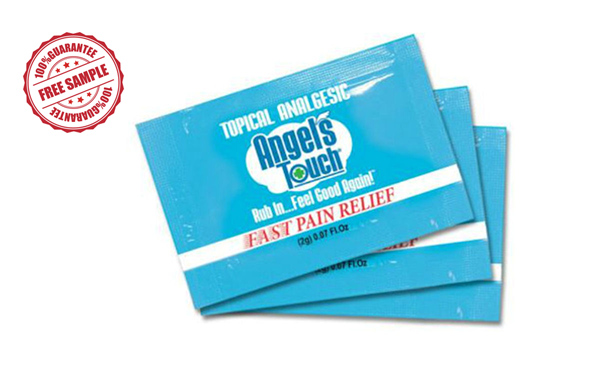 Angle's Touch Pain Relief: Free Samples