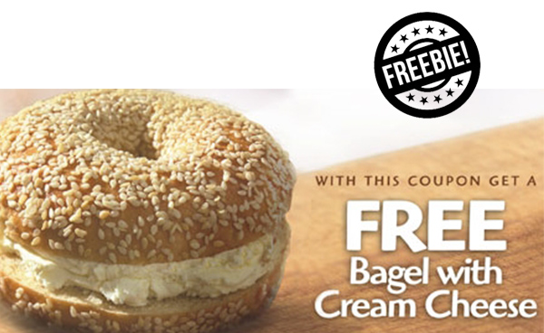 Bruegger's Bagels Coupon: Free Bagel & Cream Cheese
