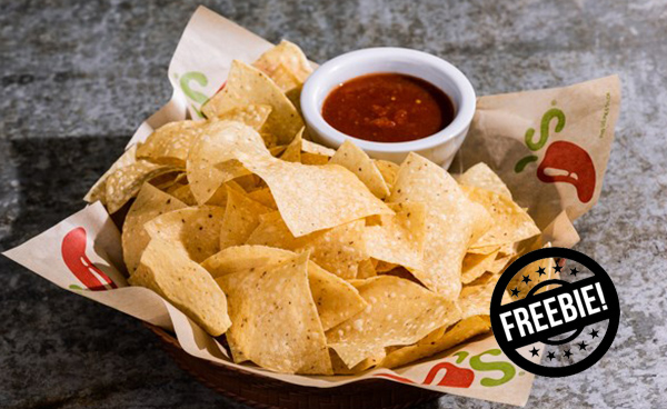 Chili's Deal: Free Chips & Salsa Every Visit