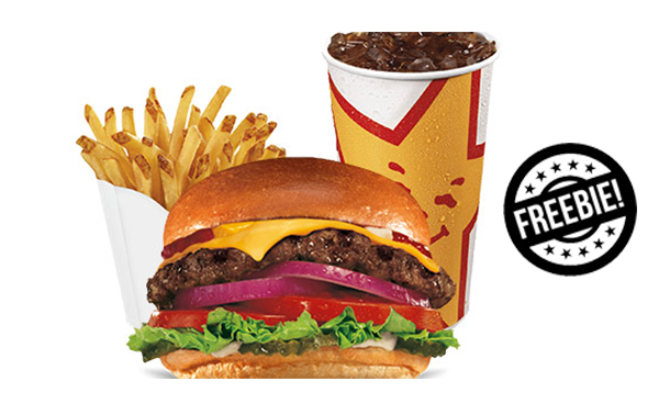 Free Small Fries and Drink at Hardee's