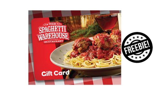 Spaghetti Warehouse: Free Appetizer w/ Purchase (OH, NY, & TX)