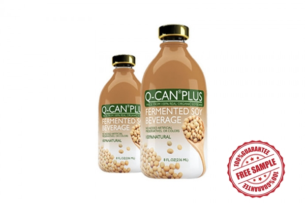 Q Can Plus Soybean Beverage Sample