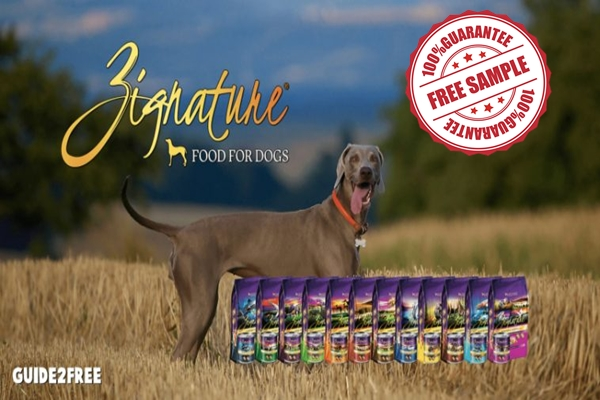Dog Food from Zignature Sample for Free