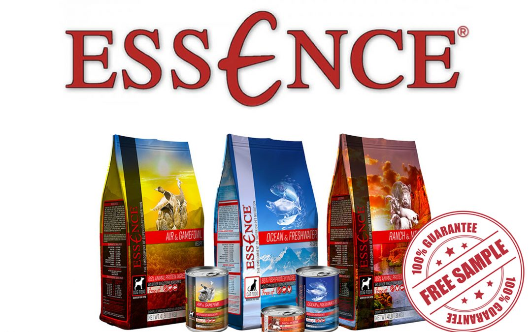 FREE SAMPLE OF ESSENCE PET FOOD