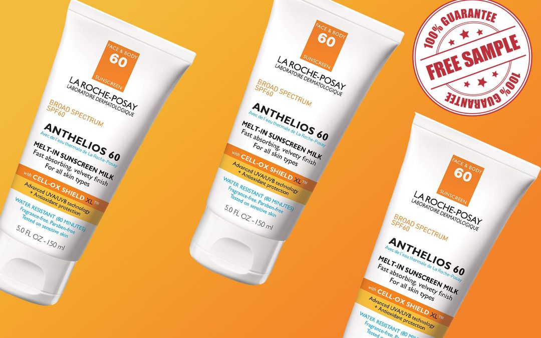 LA ROCHE-POSAY ANTHELIOS MELT-IN SUNSCREEN MILK SPF 60 FREE SAMPLE