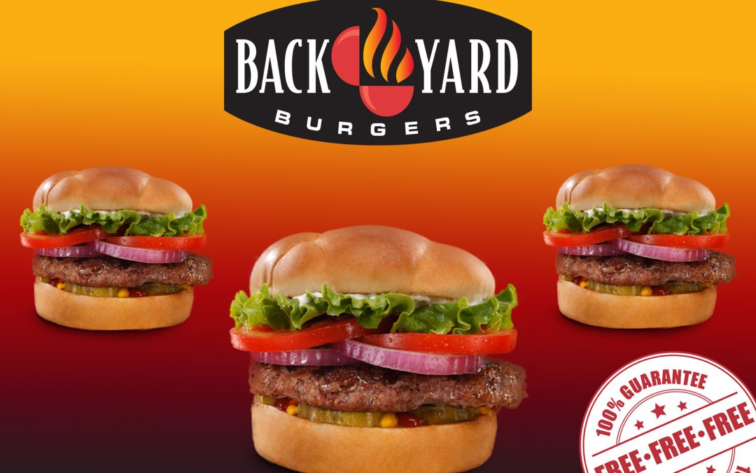 FREE BACK YARD CLASSIC BURGER