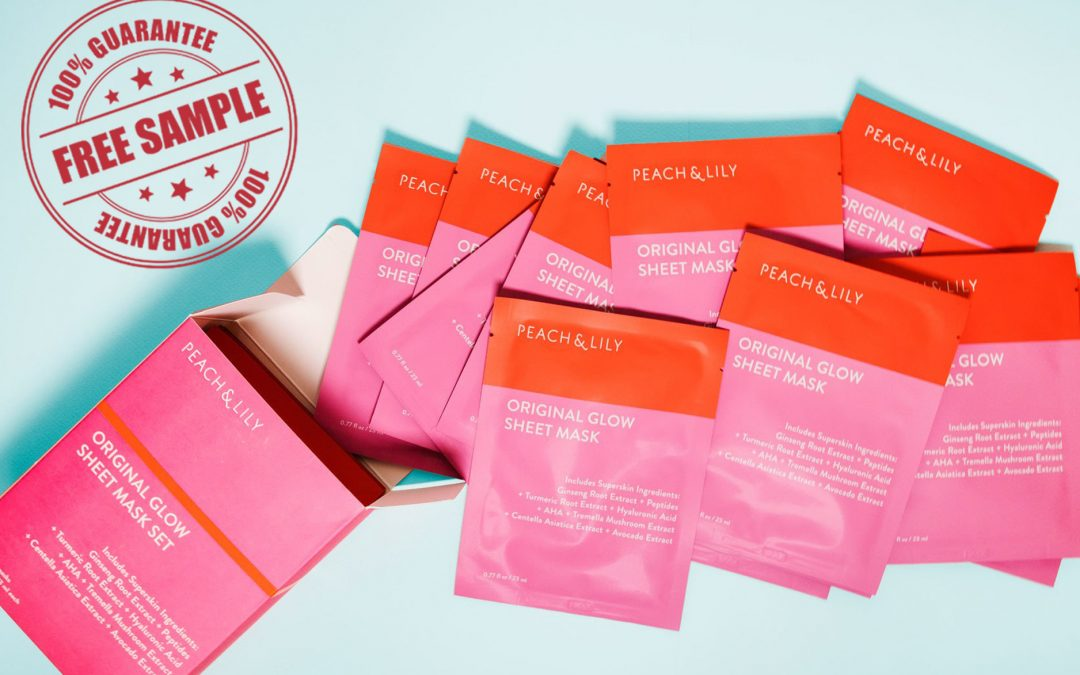 PEACH & LILY ORIGINAL GLOW SHEET MASK FOR FREE