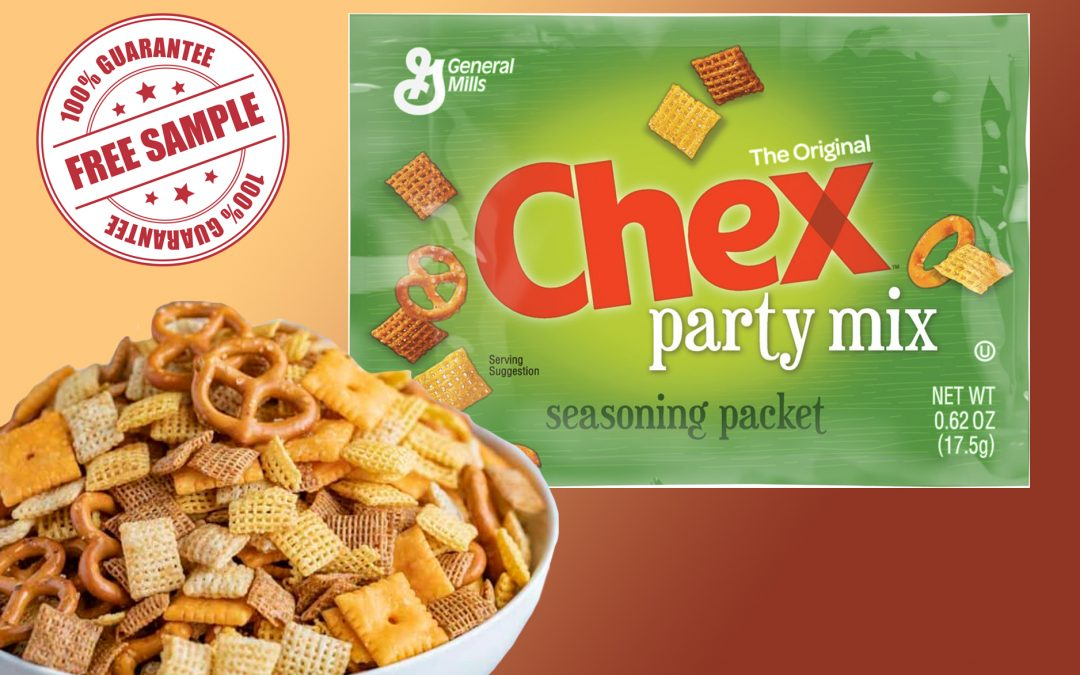 CHEX PARTY MIX SEASONING FREE SAMPLE