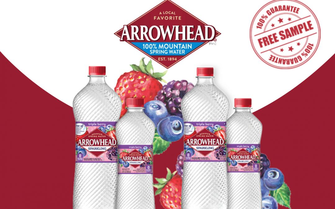 FREE ARROWHEAD SPARKLING WATER