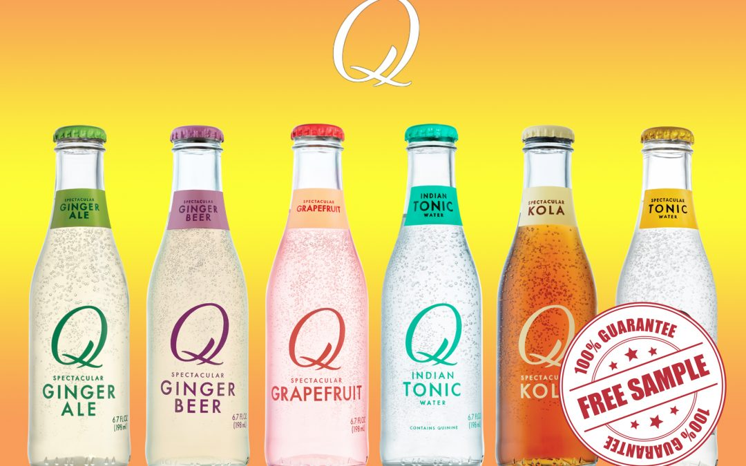 FREE 4 PACK OF Q MIXERS SAMPLE