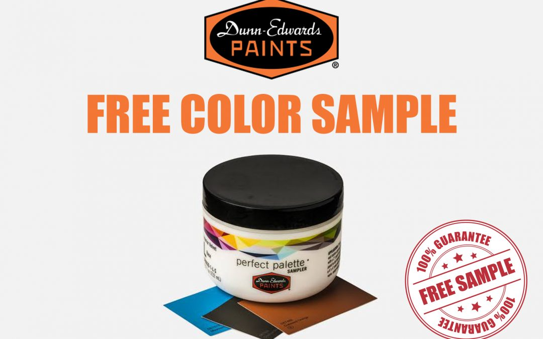 DUNN-EDWARDS FREE COLOR SAMPLE