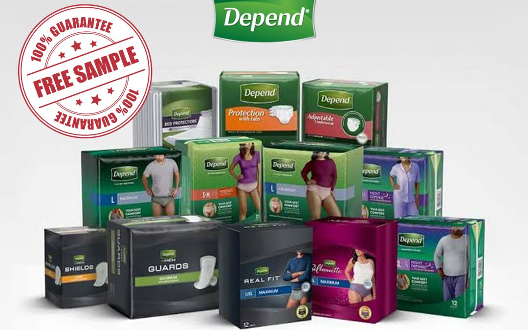 FREE DEPEND SAMPLES FOR MEN AND WOMEN