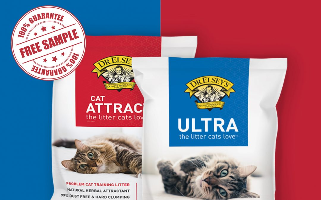 FREE DR.ELSEY'S CAT LITTER