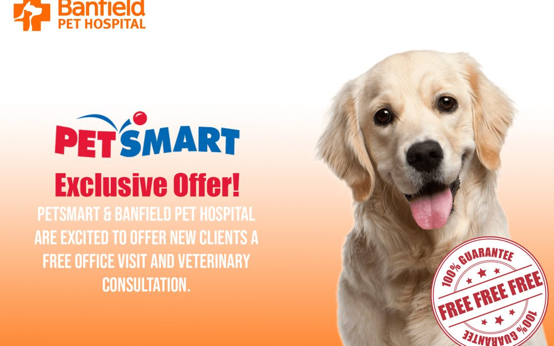 BANFIELD PET SMART FREE VETERINARY CONSULTATION