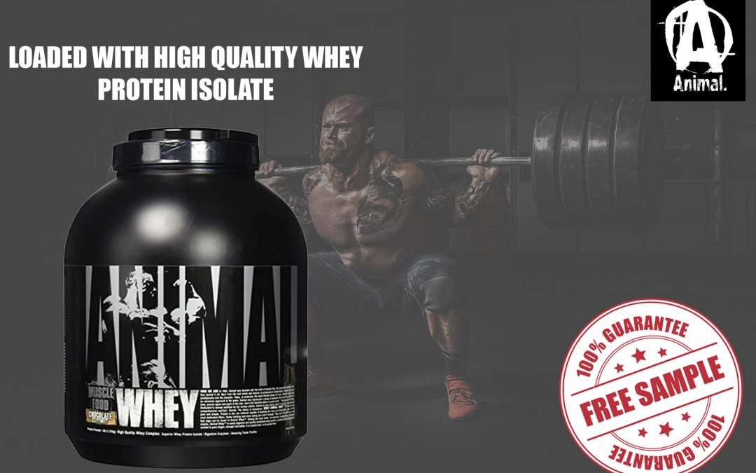 ANIMAL WHEY FREE SAMPLE