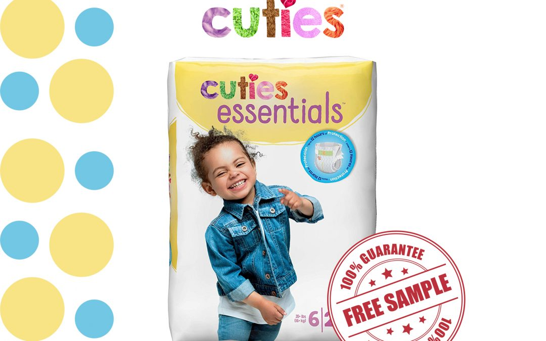 FREE SAMPLE OF CUTIES DIAPER