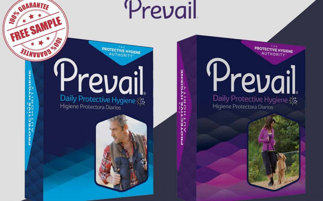 FREE SAMPLE OF PREVAIL PADS