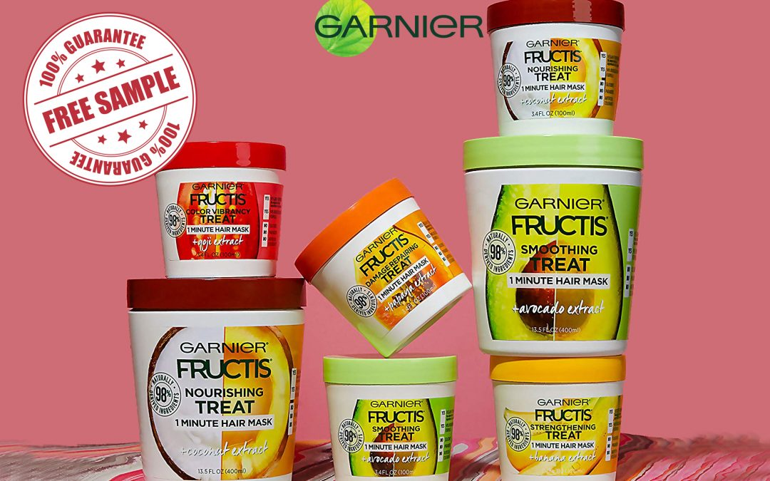 GARNIER FRUCTIS TREATS HAIR MASK FREE SAMPLE