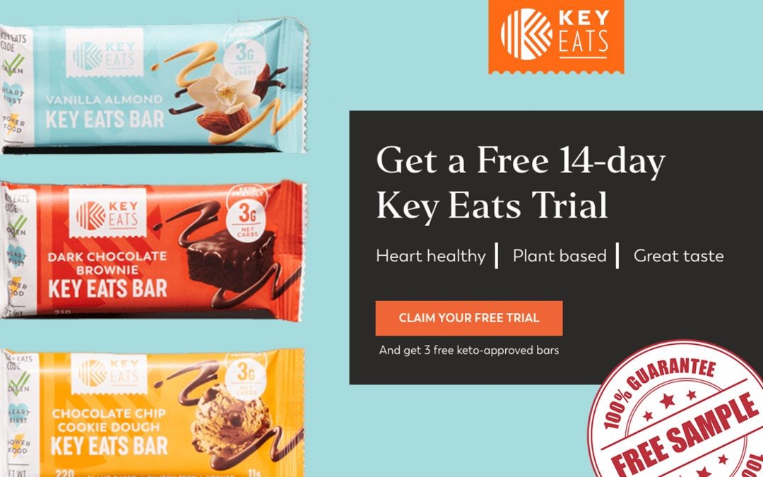 FREE 14 DAY KEY EATS TRIAL + 3 FREE BARS
