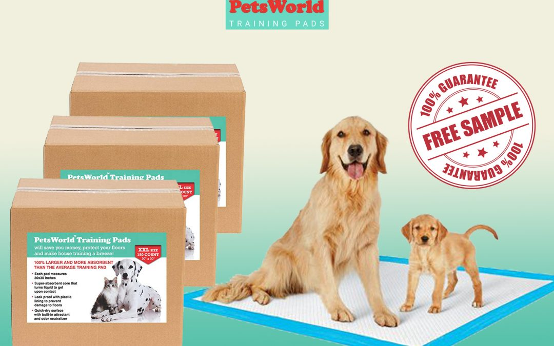 FREE SAMPLE OF TRAINING PADS FROM PETS WORLD