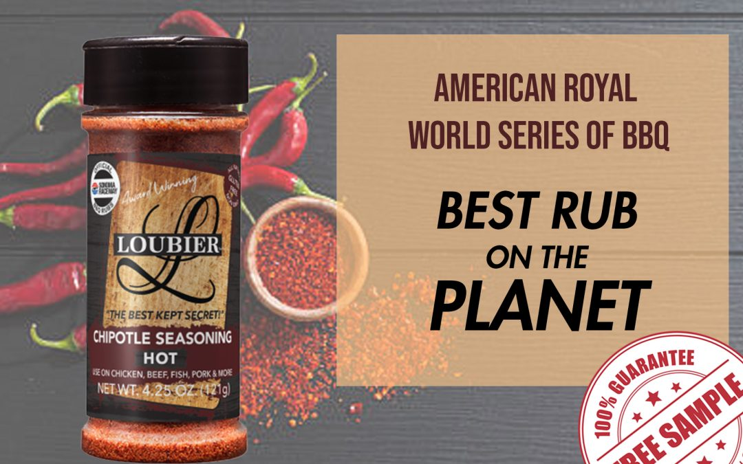 FREE SAMPLE OF LOUBIER CHIPOTLE SEASONING