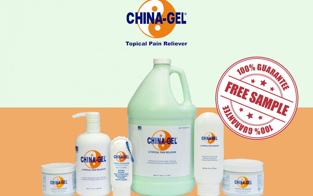 FREE SAMPLE OF CHINA-GEL TROPICAL PAIN RELIEVER